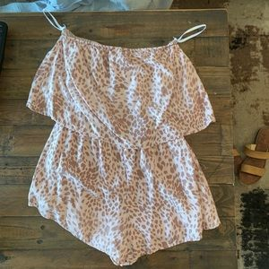 Boutique romper worn once!!!